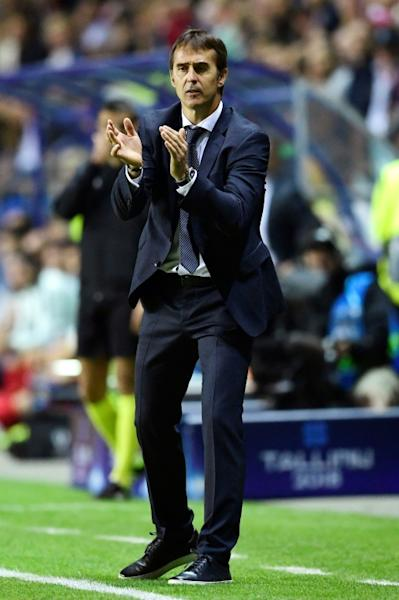 Julen Lopetegui is the new man in charge at Real Madrid