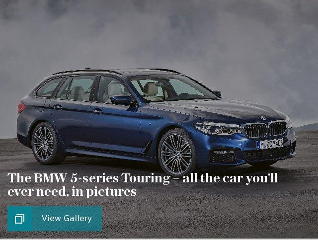 BMW 5-series Touring – in pictures
