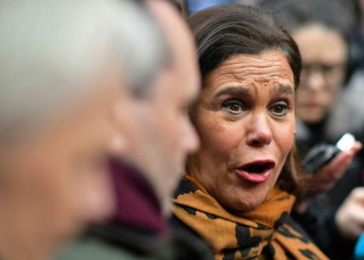 Mary Lou McDonald's Sinn Fein has a strong showing in the exit poll but both main parties have ruled out forming a coalition with it