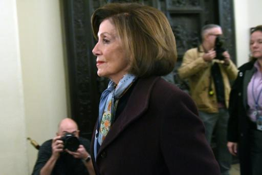 US Speaker of the House Nancy Pelosi brought the chamber to a standstill when she launched the debate on the impeachment of President Donald Trump