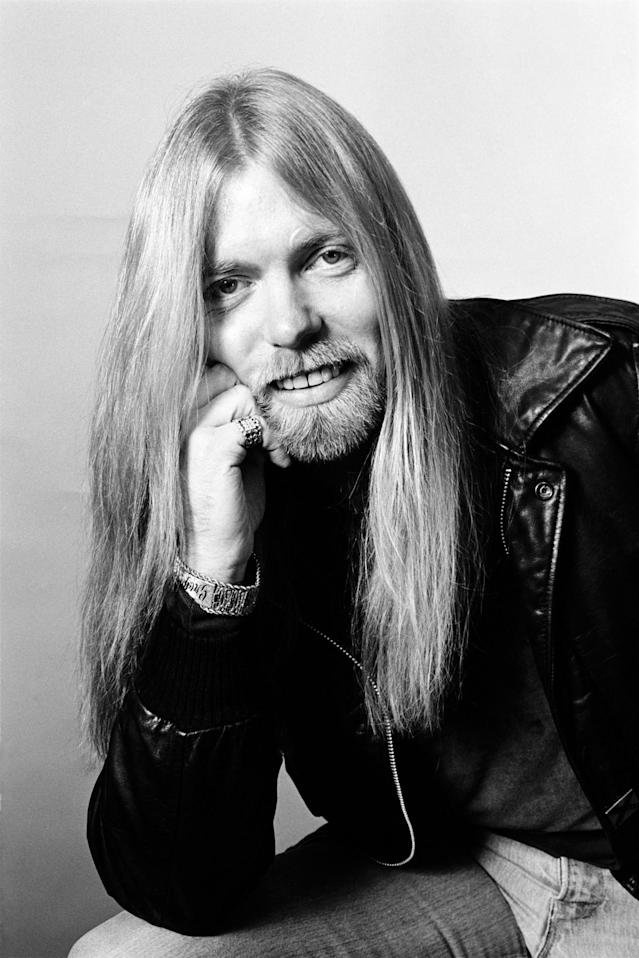 <p>Gregg Allman photographed before a gig in Philadelphia, Pa., December 1981. (mpi09/MediaPunch/IPX/AP) </p>