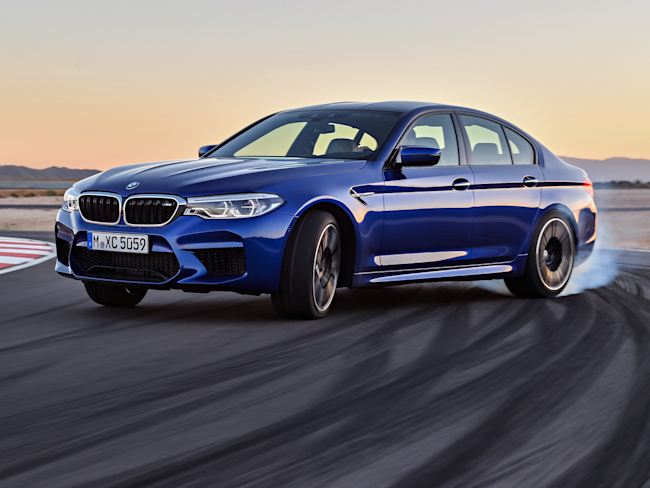 the new bmw m5 is the all-conquering beast we all hoped it would be