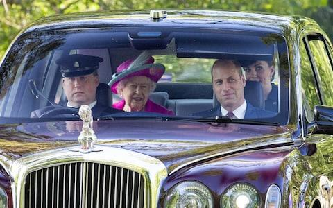 The Queen and Duke and Duchess of Cambridge attend Crathie Church - Credit: Duncan McGlynn