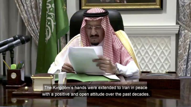 Saudi king's rare address to UN showcases monarch in charge