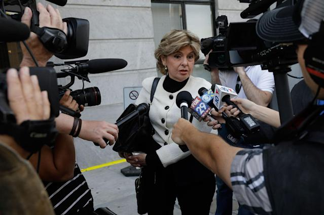 <p>Attorney Gloria Allred speaks to reporters on the fourth day of jury deliberation in Bill Cosby's sexual assault trial at the Montgomery County Courthouse in Norristown, Pennsylvania, U.S. June 15, 2017. (Photo: Lucas Jackson/Reuters) </p>
