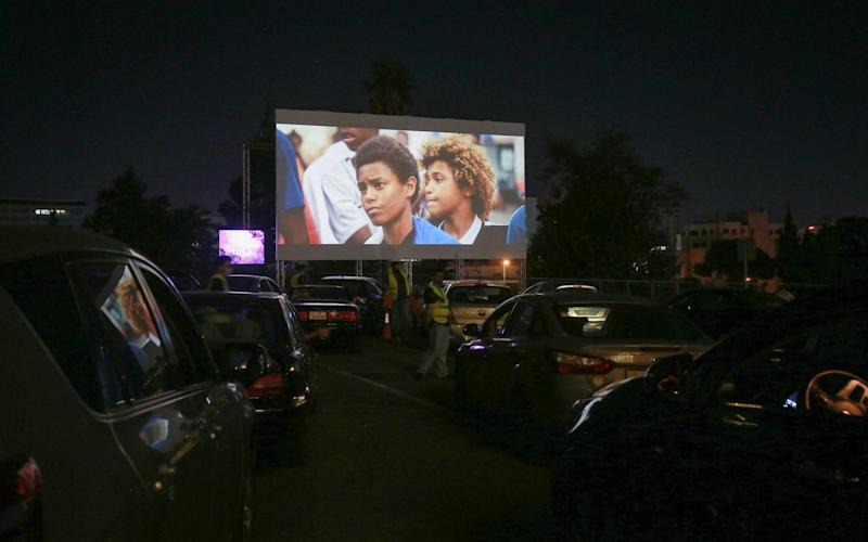 Les Misérables playing at a drive-in - Khalil Mazraawi