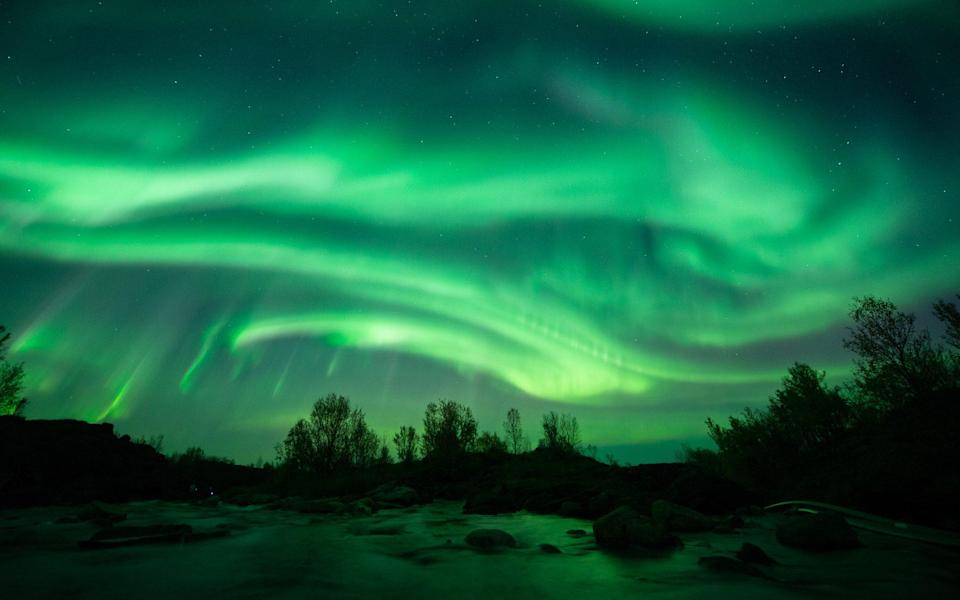 Finding aurora borealis is a cruise holiday highlight - STIAN KLO