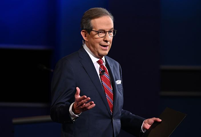 Image: Chris Wallace (Jim Watson / AFP - Getty Images)
