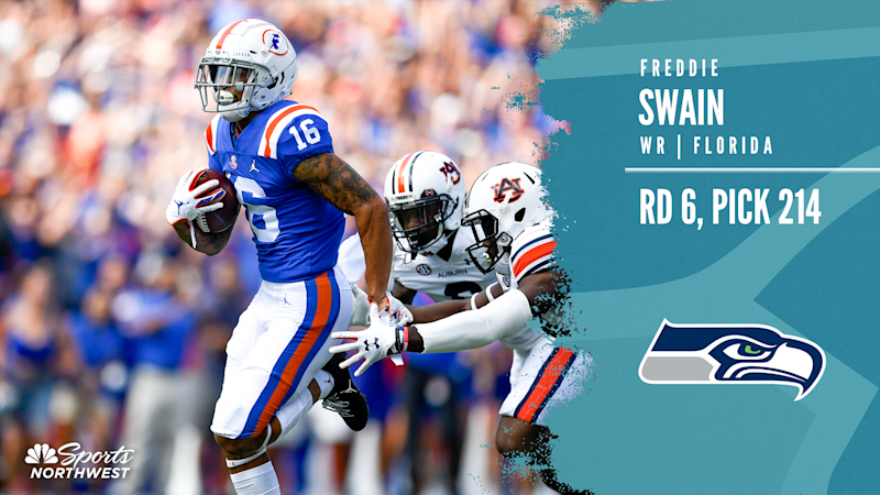 Seahawks select Florida WR Freddie Swain with 214th pick in 2020 NFL Draft