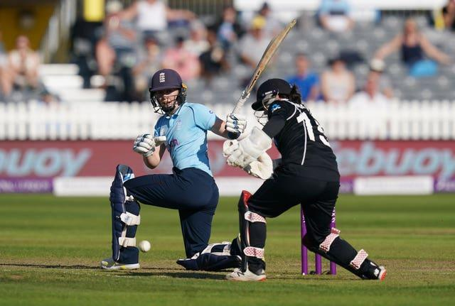 Heather Knight starred against New Zealand