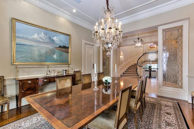 "<p>This historic home, built in 1857, was the home to former mayor of Toronto George Geary from the 1920's to the 1950's and has a large garage to showcase an automobile collection.<br>(<a href=""http://sothebysrealty.ca/en/property/ontario/greater-toronto-area-real-estate/toronto/101207/"" rel=""nofollow noopener"" target=""_blank"" data-ylk=""slk:Sotheby's International Realty"" class=""link rapid-noclick-resp"">Sotheby's International Realty</a>) </p>"