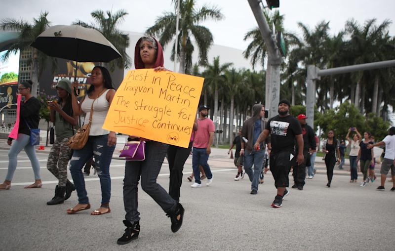 Candlelight Vigil Held In Miami In Honor Of Trayvon Martin