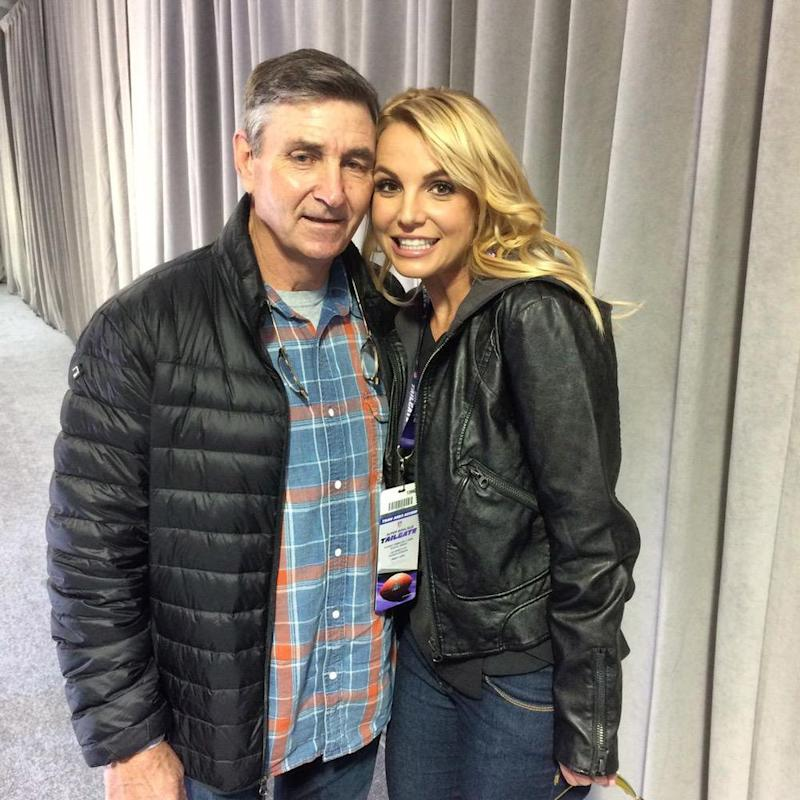 Britney Spears with father Jamie Spears