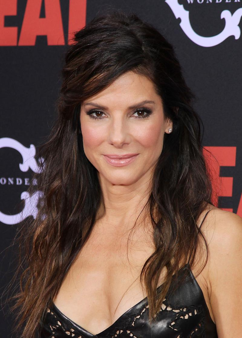 """Sandra Bullock was married to Jesse James for five years before it was revealed that he reportedly had an <a href=""""http://www.thehollywoodgossip.com/2010/03/jesse-james-cheating-on-sandra-bullock-michelle-mcgee/"""" target=""""_blank"""">affair with tattoo model Michelle """"Bombshell"""" McGee</a>. Bullock spoke out about how the scandal and divorce affected her, <a href=""""http://hollywoodlife.com/2011/12/27/sandra-bullock-opens-up-jesse-james-scandal-cheating-interview-ap-press/"""" target=""""_blank"""">saying</a>, """"I was perfectly content to be permanently broken."""""""
