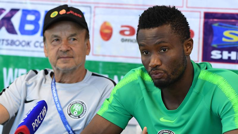 Rohr reveals reason for John Obi Mikel's continued absence from Nigeria duty