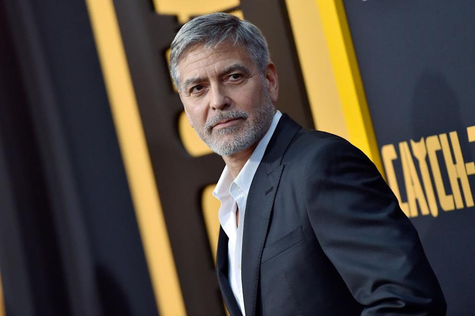 George Clooney has weighed in on the leaked recording of Tom Cruise. (Photo: Axelle/Bauer-Griffin/FilmMagic)