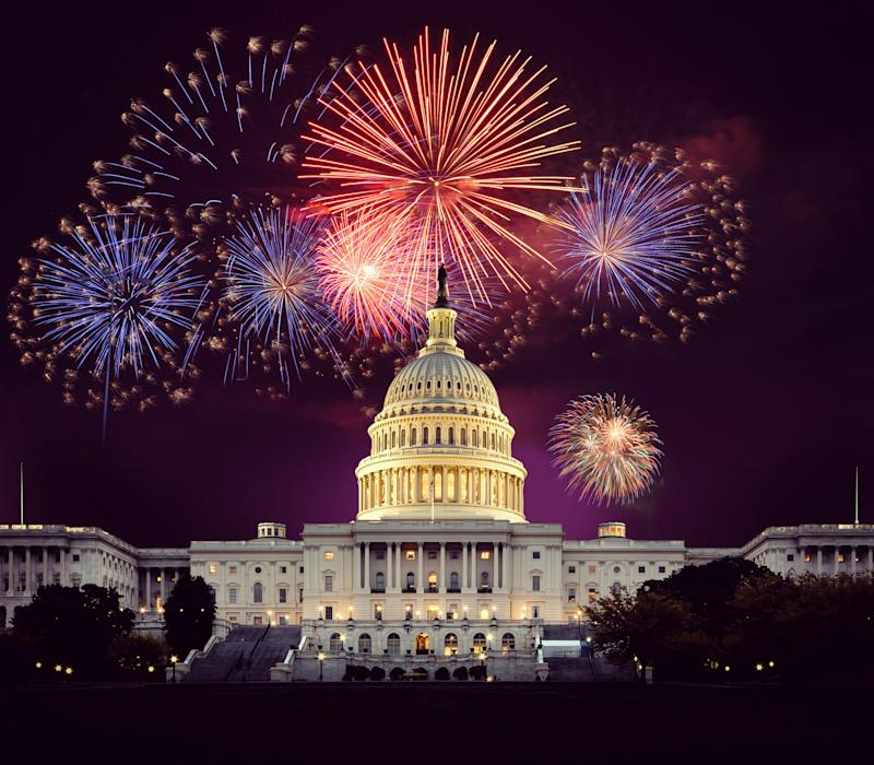 The annual fireworks display caps the annual telecast of 'A Capitol Fourth' (Photo: Capital Concerts)