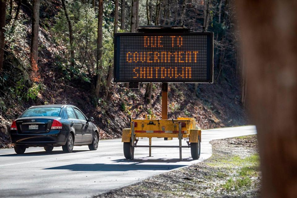 Visitor services at national parks may stop during a government shutdown.