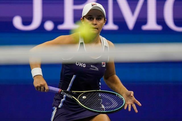 Barty won Wimbledon but suffered disappointment at the French Open and the Olympics