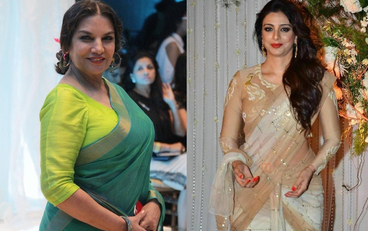 <p>They aren't even distant relatives yet hardly any of us knew until know that Shabana Azmi is Tabu and Farah's <em>bua </em>as their father Jamal Hashmi is Shabana's brother. </p>