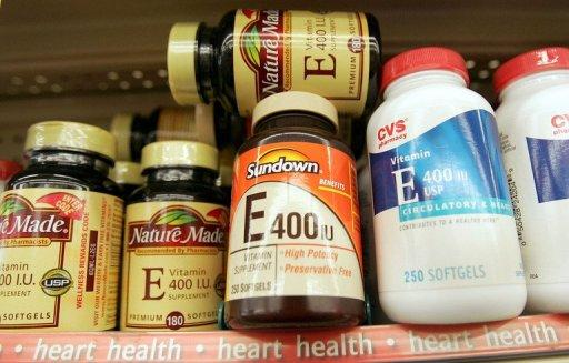 Vitamin E is found naturally in various foods including vegetable oil, nuts and some leafy vegetables