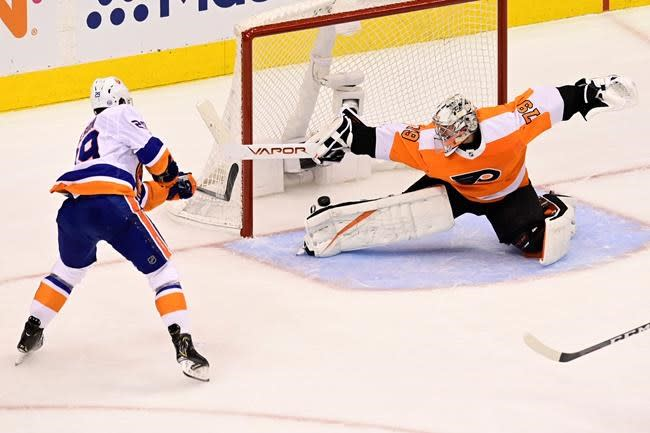 Islanders beat Flyers in Game 7, will play Lightning in Eastern Conference final