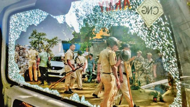 Clashes broke out on Saturday between locals and police personnel in Mayapuri after MCD officials began to seal illegal factories following a National Green Tribunal (NGT) order.