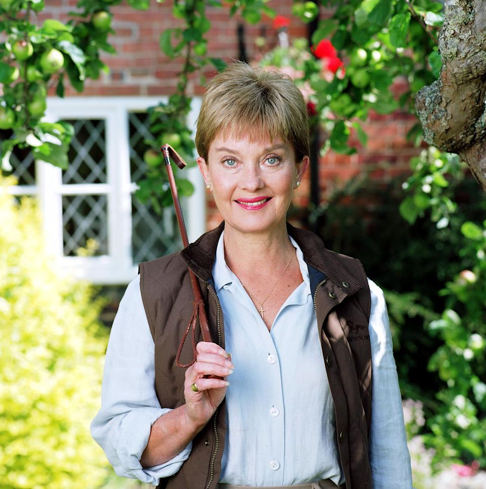 Nicola on the set of Up Rising in 2000 (Photo: ITV/Shutterstock)