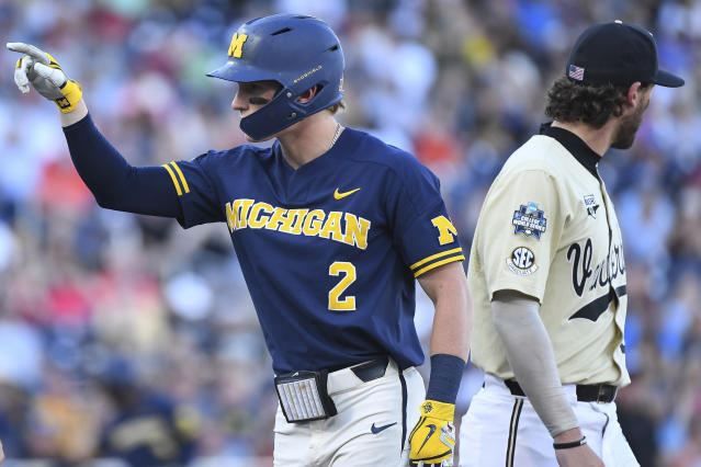Best sport: baseball. Trajectory: up. This was a great year for the Wolverines — they finished second in 2018-19, tying their best season in Learfield Cup history (the other second-place finish was 2002-03). The baseball team's surprising run to within one win of the national title was the highlight, but there were many other standout sports: women's cross country; field hockey; men's and women's gymnastics; women's swimming; wrestling; rowing; and women's water polo. The only thing Michigan failed to do was to win a national title — the school hasn't won one since 2014.