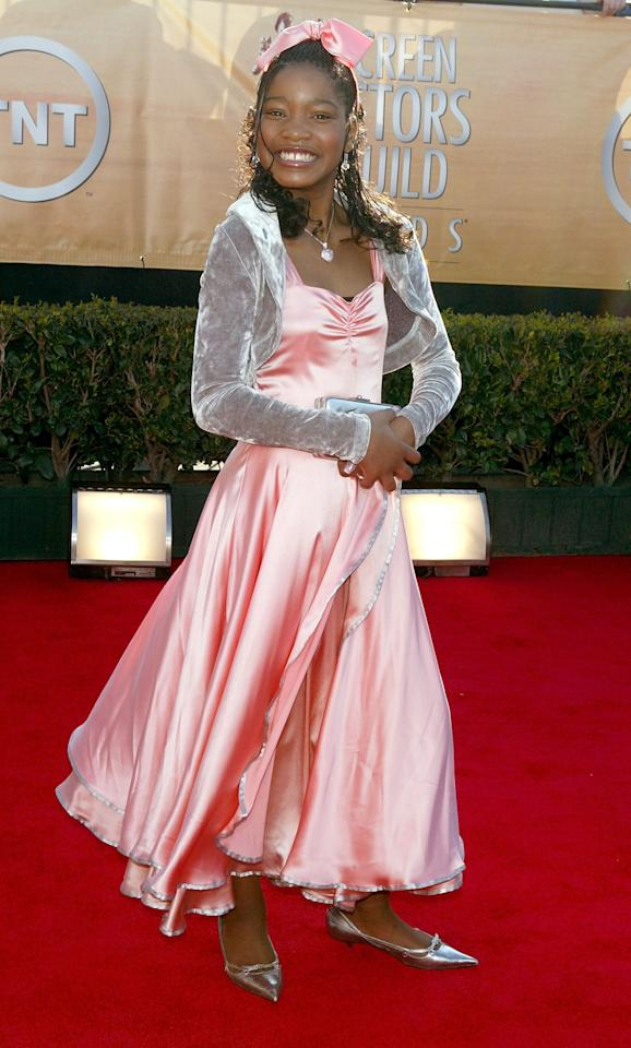 Keke Palmer arrives to the 11th Annual Screen Actors Guild Awards at the Los Angeles Shrine Exposition Center on February 5, 2005 in Los Angeles, California. Photo courtesy of Getty Images.