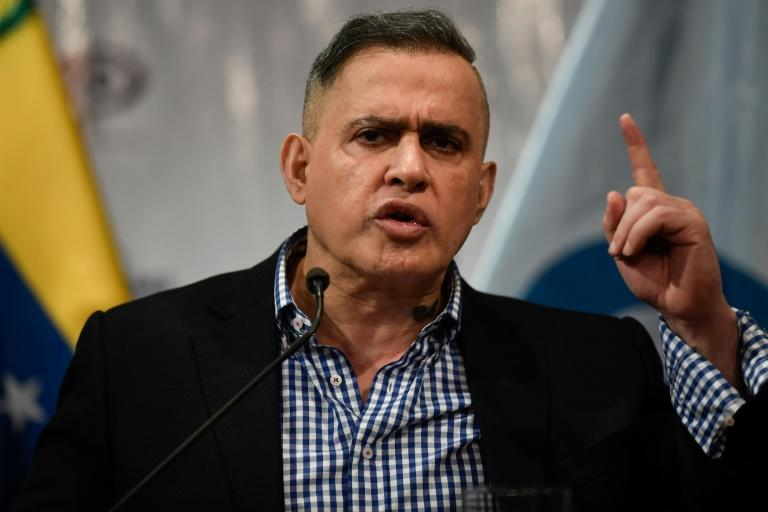 "Venezuelan attorney general Tarek William Saab (pictured January 2020)  asked the country's Supreme Court ""to determine if the Voluntad Popular political organization is a terrorist organization"""
