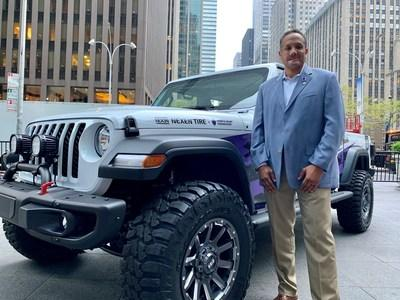 Nexen Tire America Inc., a worldwide leader in high-performance, passenger, SUV / light truck and winter tire technology, has announced retired Army Master Sgt. Brian Porter is the recipient of the Nexen Hero 2020 Jeep Gladiator Sport S as part of the Nexen Hero program. Porter is the second Purple Heart Medal recipient to receive a custom vehicle built by Nexen Tire as part of its initiative to honor the nation's heroes.