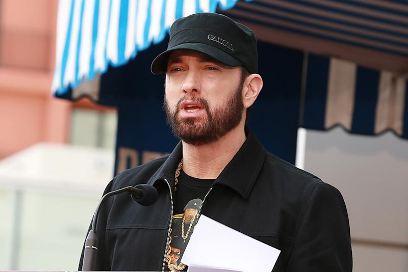 Eminem reveals names of his favourite rappers of all time