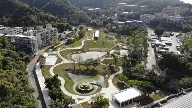 <p>Taipei's Yongchunpi Wetland Park (Courtesy of Facebook/Taipei.Trail) </p>