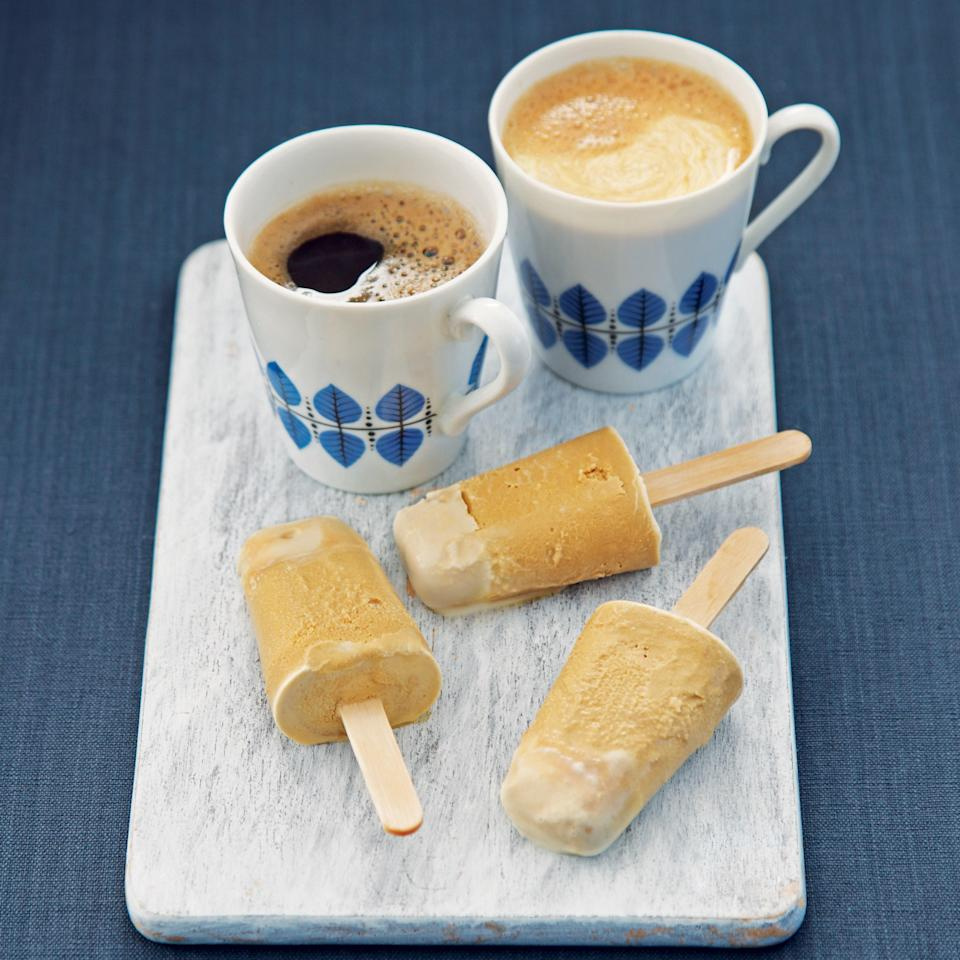 """Can't find coffee essence to mix into these popsicles? <a rel=""""nofollow noopener"""" href=""""http://www.epicurious.com/recipes/food/views/cold-brew-iced-coffee-concentrate-51104260?mbid=synd_yahoo_rss"""" target=""""_blank"""" data-ylk=""""slk:Cold-brew concentrate"""" class=""""link rapid-noclick-resp"""">Cold-brew concentrate</a> or coffee liqueur make fine substitutes. <a rel=""""nofollow noopener"""" href=""""https://www.epicurious.com/recipes/food/views/irish-coffee-51173200?mbid=synd_yahoo_rss"""" target=""""_blank"""" data-ylk=""""slk:See recipe."""" class=""""link rapid-noclick-resp"""">See recipe.</a>"""