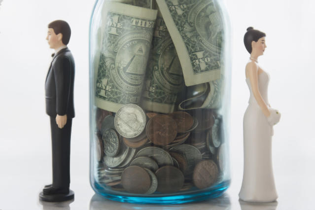 It's important to talk about money before walking down the aisle.