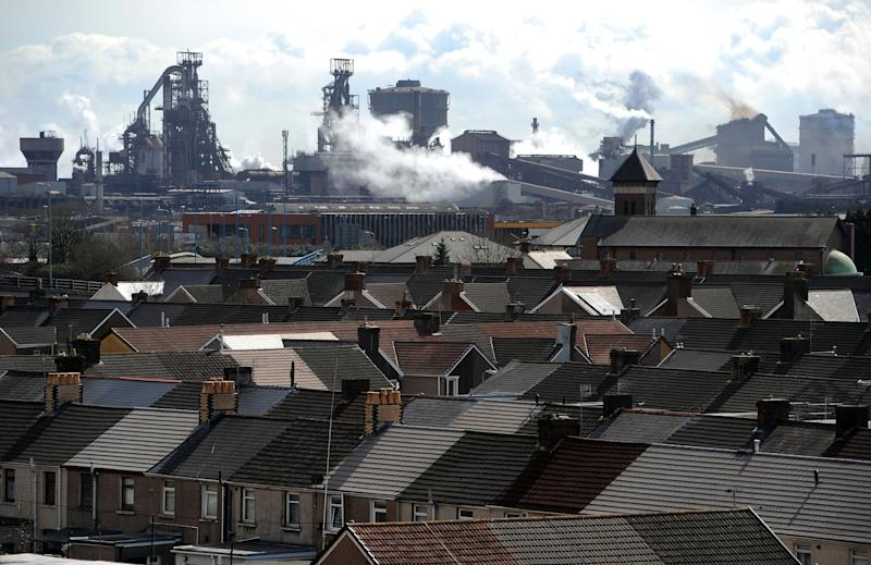 Port Talbot has a pollution level of 18 micrograms per cubic metre (Picture: PA)