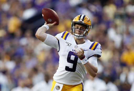 LSU-Texas a landmark game for Burrow on several levels