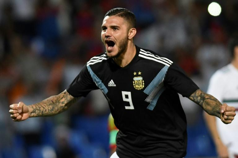 Mauro Icardi scored his first goal for Argentina last month