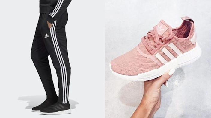 Save 25% on almost everything at Adidas right now.