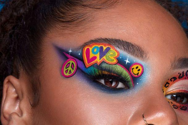 PHOTO: This brand-new collab between Morphe and Lisa Frank invites you to explore a universe of shades that inspire. (Morphe X Lisa Frank Collection)