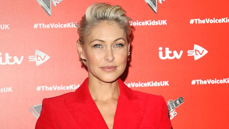 TV presenter Emma Willis said that the lockdown made her feel useless (Image: Getty Images)