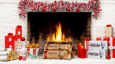 KFC has again partnered with Enviro-Log® to bring back the 11 Herbs & Spices Firelog available exclusively at Walmart.com. The limited-time, limited-quantity firelog makes for a perfect, unexpected holiday gift.