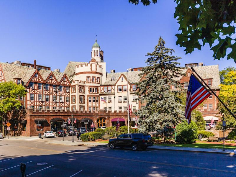 Scarsdale, Westchester county, New York State ranked second on Bloomberg's list: Getty Images/iStockphoto