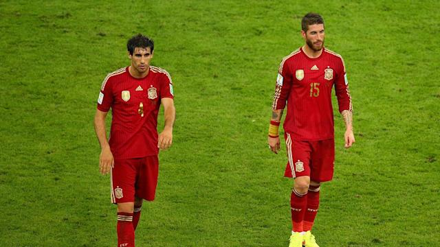 Spain the latest to succumb to the curse of winning the World Cup