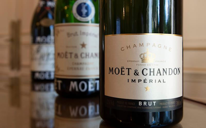 Moet & Chandon bottles