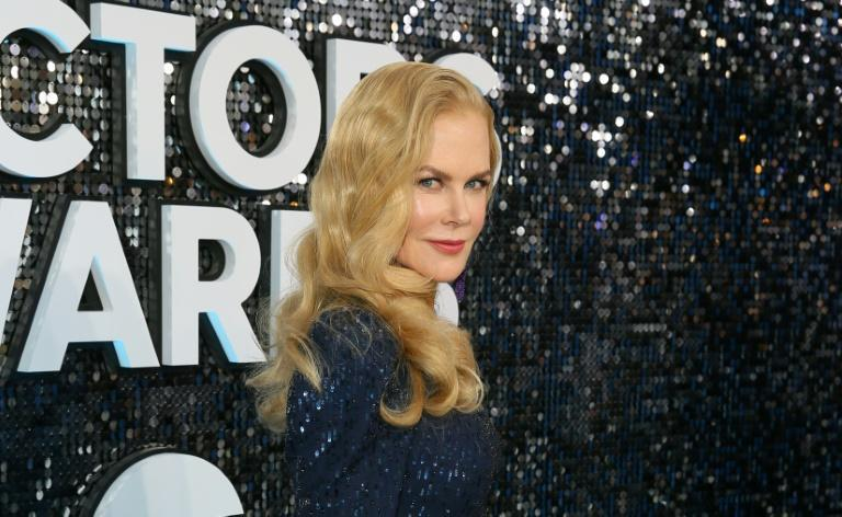 Nicole Kidman, who stars in the new mini-series 'The Undoing,' is seen in January in Los Angeles