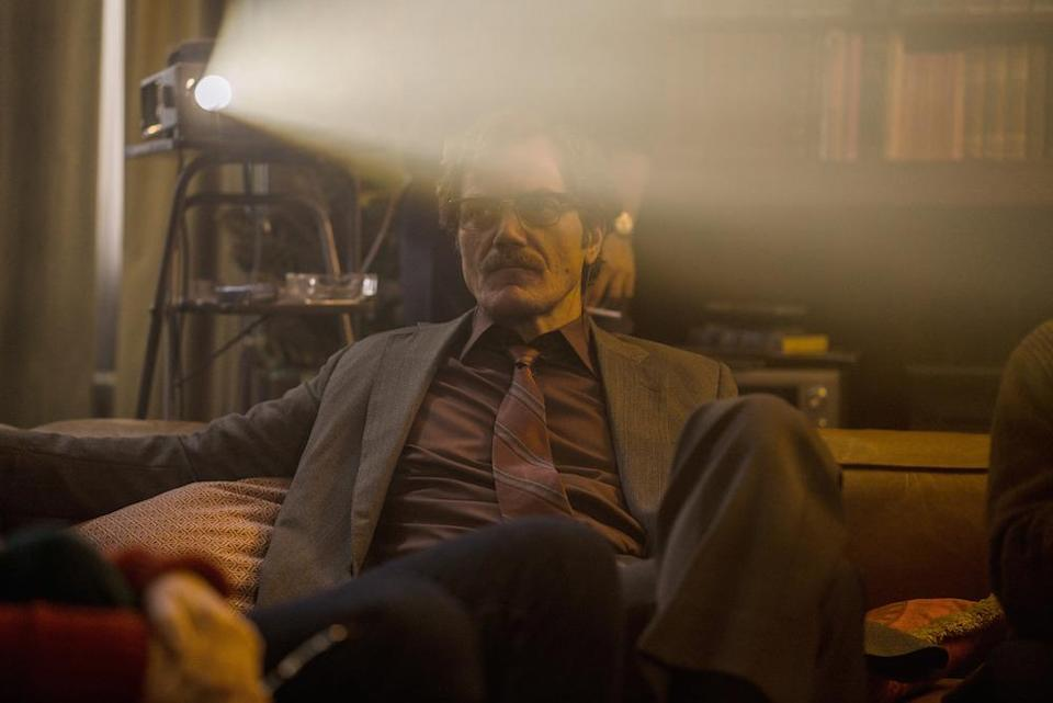 Marty Kurtz (Michael Shannon) stays out of the spotlight (Picture: BBC)