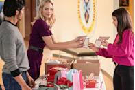 <p><strong>Premieres: </strong>Saturday, February 13 at 9 p.m. ET </p><p><strong>Stars: </strong>Laura Vandervoort and Nicholas Gonzalez</p><p><strong>What's it about?:</strong> A man's daughter plays matchmaker for a school project, and ends up using her dad and her teacher as the prime guinea pigs.</p>