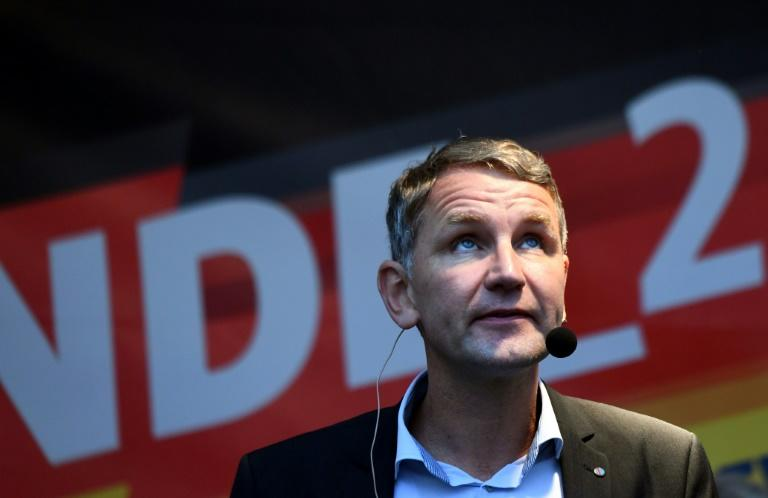 Bjoern Hoecke, a hardline nationalist who is local head of the Alternative for Germany (AfD) party, is tipped to do well in Thuringia regional elections
